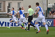 Bristol Rovers Billy Bodin (23) scores and celebrates his goal 1-0  first half during the EFL Sky Bet League 1 match between Bristol Rovers and Southend United at the Memorial Stadium, Bristol, England on 11 March 2017. Photo by Gary Learmonth.