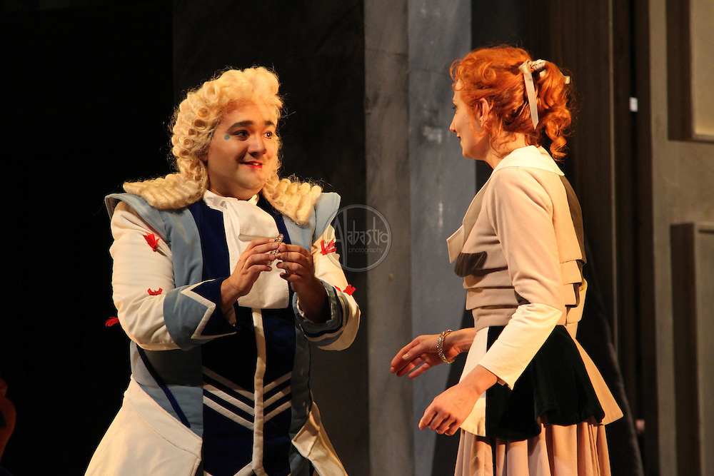 Seattle Opera performance of Cinderella (La Cenerentola).