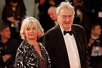 Stephen Frears and Anne Rothenstein at the premiere of the film Victoria & Abdul at the 74th Venice Film Festival, Sala Grande on Sunday 3 September 2017, Venice Lido, Italy.