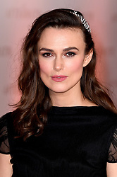 Keira Knightley attending the world premiere of The Aftermath at the Picturehouse Central Cinema in London