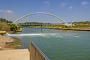 Israel, Hadera, The Hadera River and park