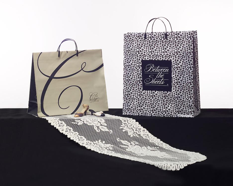 Kal Pac designer shopping bags.