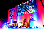 Julian Speroni thinks back to his first season as a Palace player during The gloves are off. An Evening With Julian Speroni at  at Fairfields Hall, Croydon, United Kingdom on 20 January 2015. Photo by Michael Hulf.