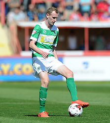 Yeovil Town's Marc Laird - Photo mandatory by-line: Harry Trump/JMP - Mobile: 07966 386802 - 08/08/15 - SPORT - FOOTBALL - Sky Bet League Two - Exeter City v Yeovil Town - St James Park, Exeter, England.
