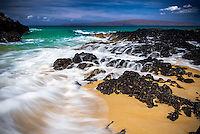 Makena Cove in Maui, Hawaii, also known as Secret Beach, is a pristine and secluded beach along the Maui coast that provides phenomenal views.