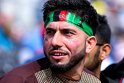 Afghanistan fans - Mandatory by-line: Robbie Stephenson/JMP - 18/06/2019 - CRICKET- Old Trafford - Manchester, England - England v Afghanistan - ICC Cricket World Cup 2019 group stage