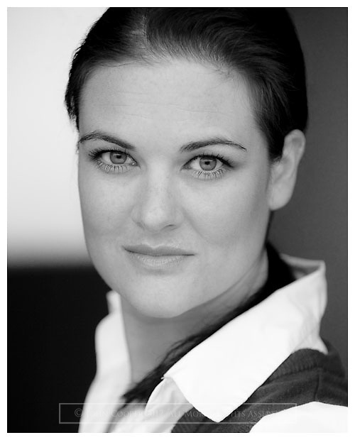 Headshot of Actress Clare Waugh.