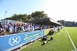 The travelling supporters - Mandatory by-line: Arron Gent/JMP - 21/09/2019 - FOOTBALL - Cherry Red Records Stadium - Kingston upon Thames, England - AFC Wimbledon v Bristol Rovers - Sky Bet League One