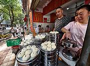 China, Sichuan. Chengdu. Haokelai Baozi restaurant.