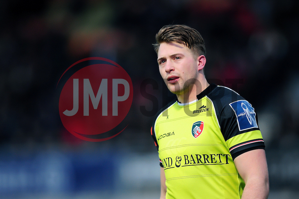 George Catchpole of Leicester Tigers - Mandatory byline: Patrick Khachfe/JMP - 07966 386802 - 05/02/2017 - RUGBY UNION - Allianz Park - London, England - Saracens v Leicester Tigers - Anglo-Welsh Cup.