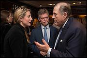 FLORA MONTGOMERY-JESEN; SOREN JESEN;  DAVID KER; Ralph Lauren host launch party for Nicky Haslam's book ' A Designer's Life' published by Jacqui Small. Ralph Lauren, 1 Bond St. London. 19 November 2014
