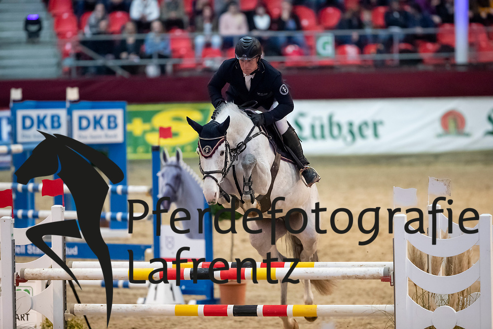 KLEIS Thomas (GER), Donna Lottchen 8<br /> Neustadt-Dosse - CSI 2019<br /> 2. Qualifikation Youngster Tour für 7 und 8 jährige Pferde<br /> 11. Januar 2019<br /> © www.sportfotos-lafrentz.de/Stefan Lafrentz