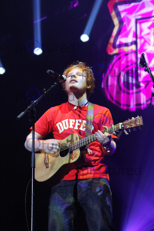 Ed Sheeran Girlguiding UK Big Gig, Wembley Arena, London, UK. 01 October 2011 Contact: Rich@Piqtured.com +44(0)7941 079620 (Picture by Richard Goldschmidt)