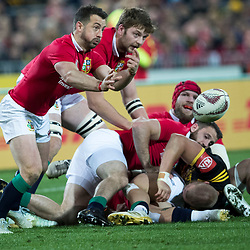 Greig Laidlaw during game 8 of the British and Irish Lions 2017 Tour of New Zealand,The match between  Hurricanes and British and Irish Lions, Westpac Stadium, Wellington, Tuesday 27th June 2017<br /> (Photo by Kevin Booth Steve Haag Sports)<br /> <br /> Images for social media must have consent from Steve Haag