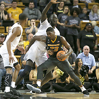 ORLANDO, FL - NOVEMBER 30: Jeremiah Tilmon #23 of the Missouri Tigers drives to the basket against Tacko Fall #24 of the UCF Knights during a NCAA basketball game at the CFE Arena on November 30, 2017 in Orlando, Florida. (Photo by Alex Menendez/Getty Images) *** Local Caption *** Jeremiah Tilmon; Tacko Fall