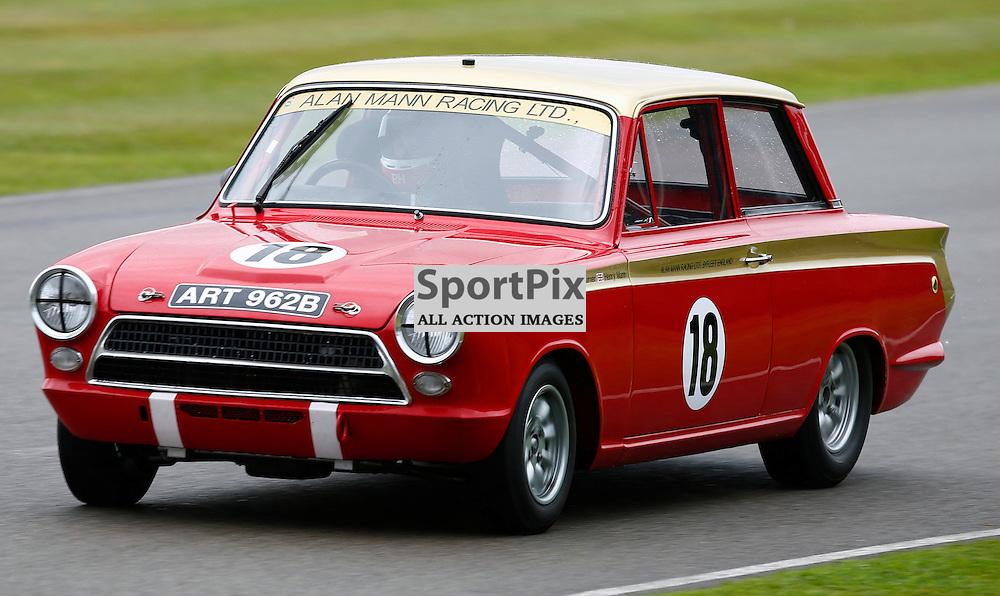 GOODWOOD REVIVAL....Darren Turner during qualifying for the weekend races...(c) STEPHEN LAWSON | SportPix.org.uk