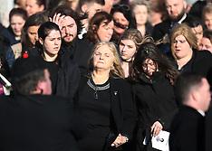 Dolores O'Riordan Funeral - 23 Jan 2018