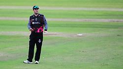 Jim Allenby, Somerset captain looks on.  - Mandatory by-line: Alex Davidson/JMP - 15/07/2016 - CRICKET - Cooper Associates County Ground - Taunton, United Kingdom - Somerset v Middlesex - NatWest T20 Blast