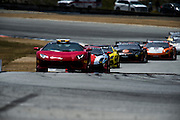 May 2-4, 2014: Laguna Seca Raceway. The field behind the safety car.