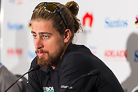 Media Conference with Peter Sagan (Bora Hansgrohe), Tour Down Under, Australia on the 14 of January 2017 ( Credit Image: © Gary Francis / ZUMA WIRE SERVICE )