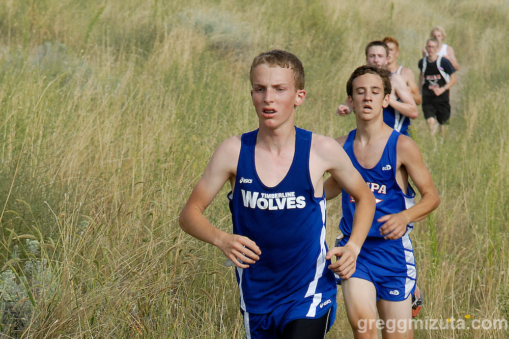 Timberline junior Ben Shields during the Camelsback Classic at Boise, ID on August 28, 2009. Shields finished in 19:50.4.