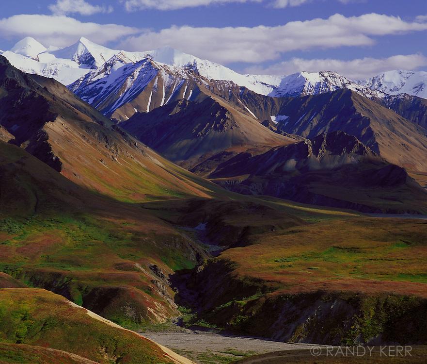 Alaska Range from Eielsen Visitor Center