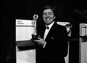 18/01/1989<br /> 01/18/1989<br /> 18 January 1989<br /> Texaco Sportstars of the Year Awards 1988 at the Burlington Hotel, Dublin. Picture shows Des Smyth, of Meath, winner of the Golf Texaco Sportstar Award.