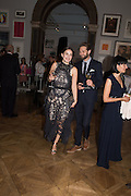 HEIDA REED; SAM RITZENBERG, Royal Academy Summer exhibition party. Piccadilly. 7 June 2016