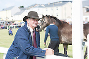 21/09/2014 Mairtin Nee from Cashel at the Connemara Pony Show 2014 in Clifden Co. Galway. Photo:Andrew Downes