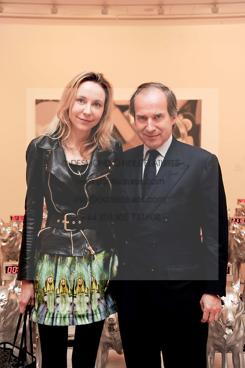 SIMON DE PURY and Michaela Neumeister at the BRIC art sale preview (Brazil, Russia, India & China, the acronym BRIC here refers to the burgeoning contemporary art practices within these four countries.) organised by Phillips de Pury & Company at The Saatchi Gallery, London on 17th April 2010. *** Local Caption *** Image free to use for 1 year from image capture date as long as image is used in context with story the image was taken.  If in doubt contact us - info@donfeatures.com<br /> SIMON DE PURY and Michaela Neumeister at the BRIC art sale preview (Brazil, Russia, India & China, the acronym BRIC here refers to the burgeoning contemporary art practices within these four countries.) organised by Phillips de Pury & Company at The Saatchi Gallery, London on 17th April 2010.