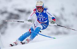 29.12.2014, Hohe Mut, Kühtai, AUT, FIS Ski Weltcup, Kühtai, Slalom, Damen, 1. Durchgang, im Bild Michelle Gisin (SUI) // Michelle Gisin of Switzerland in action during 1st run of Ladies Slalom of the Kuehtai FIS Ski Alpine World Cup at the Hohe Mut Course in Kuehtai, Austria on 2014/12/29. EXPA Pictures © 2014, PhotoCredit: EXPA/ JFK