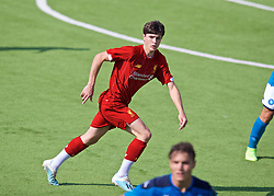 NAPLES, ITALY - Tuesday, September 17, 2019: Liverpool's substitute Layton Stewart during the UEFA Youth League Group E match between SSC Napoli and Liverpool FC at Stadio Comunale di Frattamaggiore. (Pic by David Rawcliffe/Propaganda)