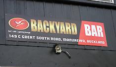 Auckland-Assault at Backyard Bar, Manurewa