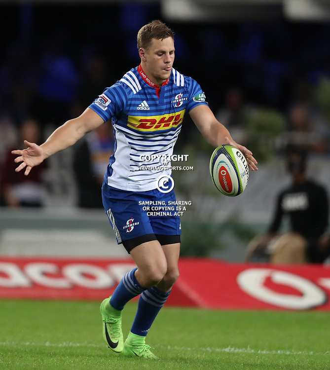 DURBAN, SOUTH AFRICA - MAY 27: SP Marais of the DHL Stormers during the Super Rugby match between Cell C Sharks and DHL Stormers at Growthpoint Kings Park on May 27, 2017 in Durban, South Africa. (Photo by Steve Haag/Gallo Images)