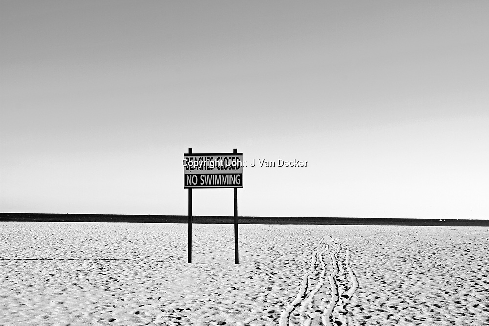 Beach Closed, Point Pleasant Beach, New Jersey, USA