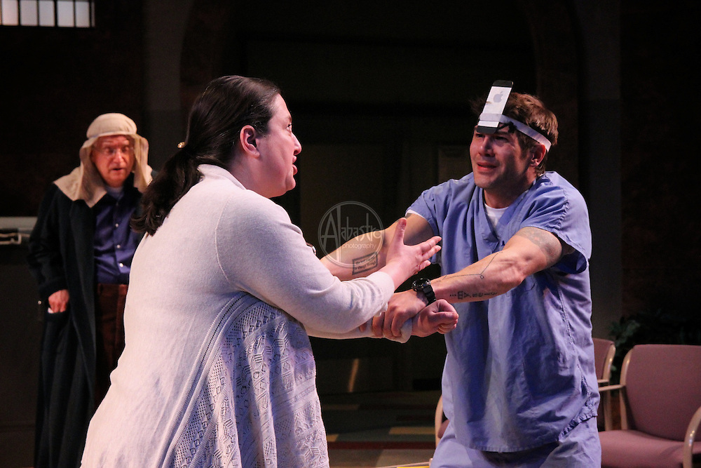 """ACT World Premier production of """"Assisted Living"""" by Katie Forgette at the Falls Theatre."""