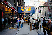 outside the cbs late show with david letterman - New York City in October 2008