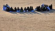"Tuareg women during the ""III Rencontre Internationale d'Imzad"", Tamanrasset, November 2011"