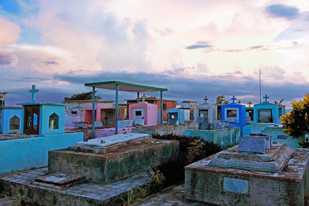 The cemetery in Cardenas, Matanzas, Cuba.