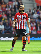 Manolo Gabbiadini (20) of Southampton during the Premier League match between Southampton and Chelsea at the St Mary's Stadium, Southampton, England on 7 October 2018.