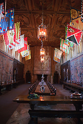 Dining Room, Casa Grande, Hearst Castle, San Simeon, California, United States of America