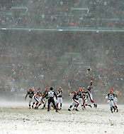 The Cleveland Browns continued their playoff hunt with an 8-0 win over visiting Buffalo.  .Photo by David  Richard