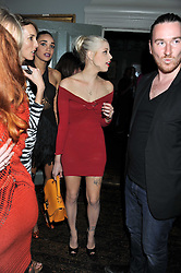 PEACHES GELDOF at 'Summer Goes By FAST,' a party celebrating London-based Canadian knitwear designer Mark Fast, held at Paradise, 19 Kilburn Lane, Kensal Green, London on 28th July 2011.