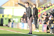 Salford City manager manager Graham Alexander during the EFL Sky Bet League 2 match between Forest Green Rovers and Salford City at the New Lawn, Forest Green, United Kingdom on 18 January 2020.