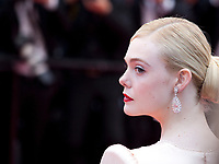 Actress Elle Fanning at the Opening Ceremony and The Dead Don't Die gala screening at the 72nd Cannes Film Festival Tuesday 14th May 2019, Cannes, France. Photo credit: Doreen Kennedy