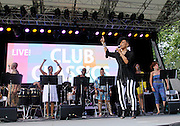 Norma Jean Wright performs as SummerStage presents Club Classics Live at Rumsey Playfield in Central Park in New York City, New York on June 28, 2014.