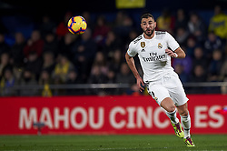 January 3, 2019 - Villarreal, Castellon, Spain - Karim Benzema of Real Madrid in action during the week 17 of La Liga match between Villarreal CF and Real Madrid at Ceramica Stadium in Villarreal, Spain on January 3 2019. (Credit Image: © Jose Breton/NurPhoto via ZUMA Press)
