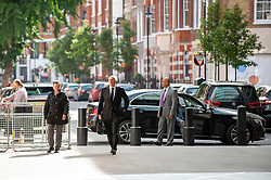 Iain Duncan Smith MP for Chingford and Woodford Green arrives at the BBC before appearing on the Andrew Marr show as a guest.<br /> <br /> Richard Hancox | EEm 21072019