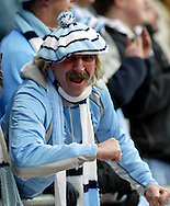 Coventry - Saturday, March 8th, 2008: A Coventry City fan celebrates his side's opening goal (1-0) during the Coca Cola Championship match at the Ricoh Arena, Coventry. (Pic by Paul Hollands/Focus Images)