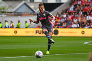 Ben White of Leeds United (5) in action during the EFL Sky Bet Championship match between Bristol City and Leeds United at Ashton Gate, Bristol, England on 4 August 2019.